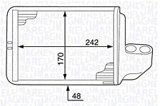 Wärmetauscher Heizungskühler für ALFA ROMEO FORD PROTON RENAULT 0.2-5.5L 1961-