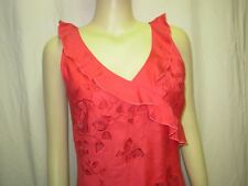 RENE DERHY Robe rouge Femme S