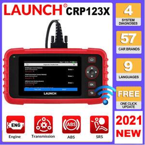 2021NEW LAUNCH X431 CRP123X OBD2 Car Scanner Automotive Diagnostic Tool 4 System