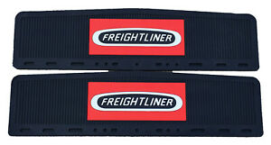 "Freightliner Trucks 6"" x 24"" Semi Truck Rubber Mud Flap-quarter Fender Flaps-Set"