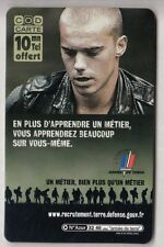 ARMEE ARMY  TELECARTE / PHONECARD .. FRANCE 10MN TICKET FT BOURGES 18 NEUVE