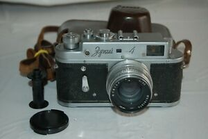 Zorki-4 Vintage 1961 Soviet Rangefinder Camera, Jupiter-8 Lens. 6166070 UK Sale