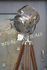 Retro Design Vintage style searchlight Spotlight Designer Tripod Floor lamp