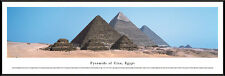 Pyramids of Giza, Egypt Framed Panorama Poster Picture