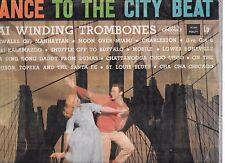 THE KAI WINDING TROMBONES  - DANCE TO THE CITY BEAT - LP + CD-R backup
