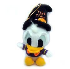 "Disney Donald Duck Happy Halloween Mini Plush Doll Key Chain 7"""