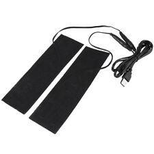 One Pair 5V USB Heater Heating Element Film Pad Warmer for Warm Knee Shoes stw