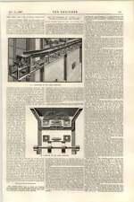 1899 Hot Coke Ash And Clinker Conveyor Smethwick Gilbert Little