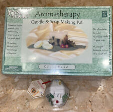 Aromatherapy candle & soap making kit + Burt's Bees Lip Balm Cuticle Cream
