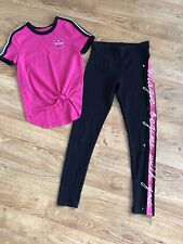 JUSTICE Girl's lot/outfit! GYMNAST 8-10
