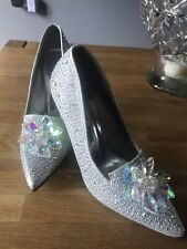 Sparkley Crystal Shoes Size 5(38)