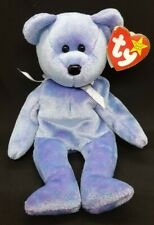 TY 1999 CLUBBY II the BEAR BEANIE BABY - MINT with MINT TAGS