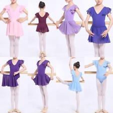 AU STOCK GIRLS to ADULTS 2 PCS SET DANCE BALLET COTTON LEOTARD SKIRT DA027