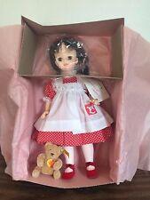 Vintage LTD ED FAO Schwarz Madame Alexander Brooke Doll Steiff Bear 1988 #3 MIB