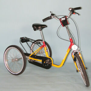 """Haverich DR 24/20 TE 20"""" 3 Gänge Dreirad Therapierad Rad Fahrrad #7562"""