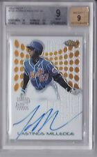 2004 Finest Autograph Lastings Milledge Graded BGS 9 (9 Auto)