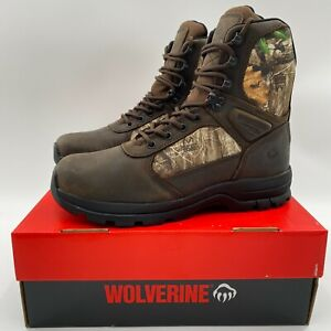 "Wolverine Men's Manistee 8"" Hunting Boots 600g Insulated Waterproof Camo NIB"