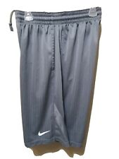 Men's Nike Athletic - Basketball - Training Shorts Size XL - Gray MINT CONDITION