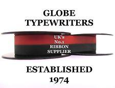 'UNDERWOOD FINGER FLITE CHAMPION' *BLACK/RED* TOP QUALITY TYPEWRITER RIBBON ⚛