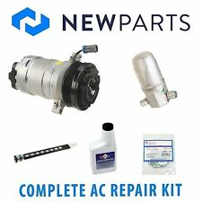 Cadillac DeVille 94-95 4.9L Complete A/C Repair Kit With NEW Compressor & Clutch