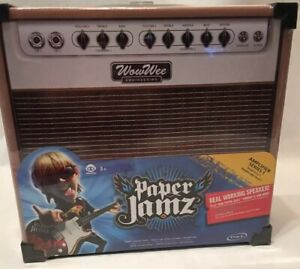New Paper Jamz Amplifier Real Working Portable Speaker Item No 6274 New in Wrap