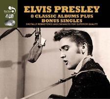 Elvis Presley 8 Classic Albums Bonus Singles 4 CD 127 Tracks From The King