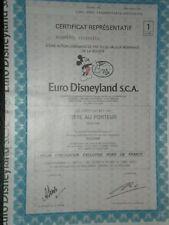 Euro Disney  Mickey Mouse Vignette   Free Shipping