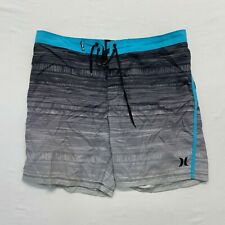 Hurley Board Shorts Women's Size 36 Polyester Tie Front Swim Shorts