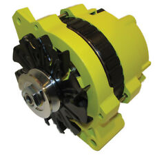 NEW 220 AMP HIGH OUTPUT YELLOW ALTERNATOR FOR GM CHEVROLET 65-85 1-WIRE ONE WIRE