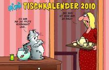 Uli Stein Tischkalender 2010 *Standtischkalender * ca.19 x14,5 x1 cm *Neu! *rar!