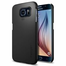 Spigen Thin Fit Case - To Suit Samsung Galaxy S6  - Smooth Black