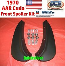 1970 Plymouth AAR Cuda Front Chin Spoilers 3443352 3443353 New MoPar