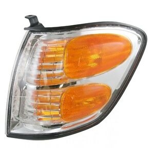FOR TY SEQUOIA 2001 2002 2003 2004 CORNER LAMP LEFT DRIVER (= TUNDRA CREW CAB)