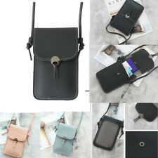 Shoulder Bag Case Cover Card Wallet pocket Crossbody PU Leather Pouch phone Soft
