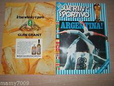 GUERIN SPORTIVO=N°26 1978 ANNO LXVI=ARGENTINA CAMPIONE DEL MONDO 1978=VEDI DESC.