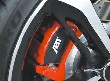 8x ABT Audi Aufkleber für Bremssätte Emblem Logo Symbol Audi