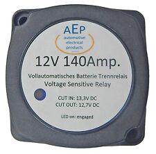BATTERIE TRENNRELAIS 12 VOLT 140 Ampere. Incl. Befestigungsmaterial