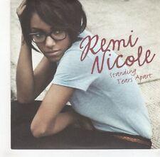 (GH657) Remi Nicole, Standing Tears Apart  - DJ CD