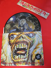 IRAN MAIDEN  Brins your daughter  to the slaughter  PICTURE DISC !! cop speciale
