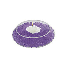 Decorative purple gel spheres for flowers & candles