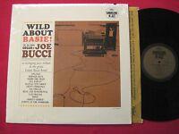ORIG JAZZ LP - WILD ABOUT BASIE! - JOE BUCCI BIG BAND ORGAN - CAPITOL T-1840