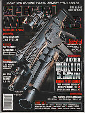 SPECIAL WEAPONS FOR MILITARY & POLICE MAGAZINE JUNE 2011.