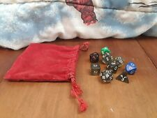 Vintage Dungeons and Dragons Dice 20 Sided Fantasy Game Role Playing