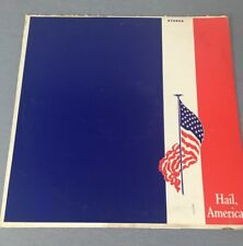Hail America! Vintage Patriotic Record Album Patriotic Songs and Narrations