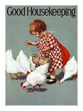 Jessie Willcox Smith Good Housekeeping Poster Kunstdruck Bild 40x30cm