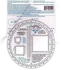 RM PRODUCTS Military Round Protractor (Blue)