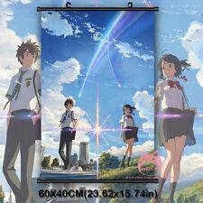Kimi No Na Wa Your Name TakI Japanese Anime Movie Wall Scroll Poster Decor Gifts