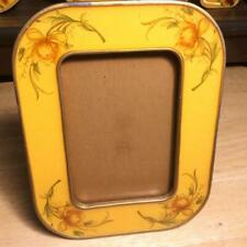 "Vintage Bucklers Inc 5th Ave, Ny. Enamel Rectangle Picture Frame 5 1/4"" X 6 5/8"""