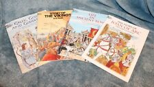 Lot of Dover Coloring Books Joan of Arc Ancient Rome The Vikings Greek Gods