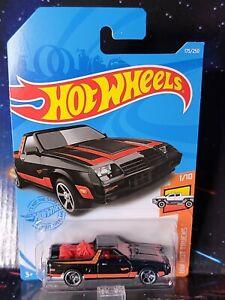 2021 Hot Wheels #175 Black '82 Dodge Rampage. Nice Brand New Package